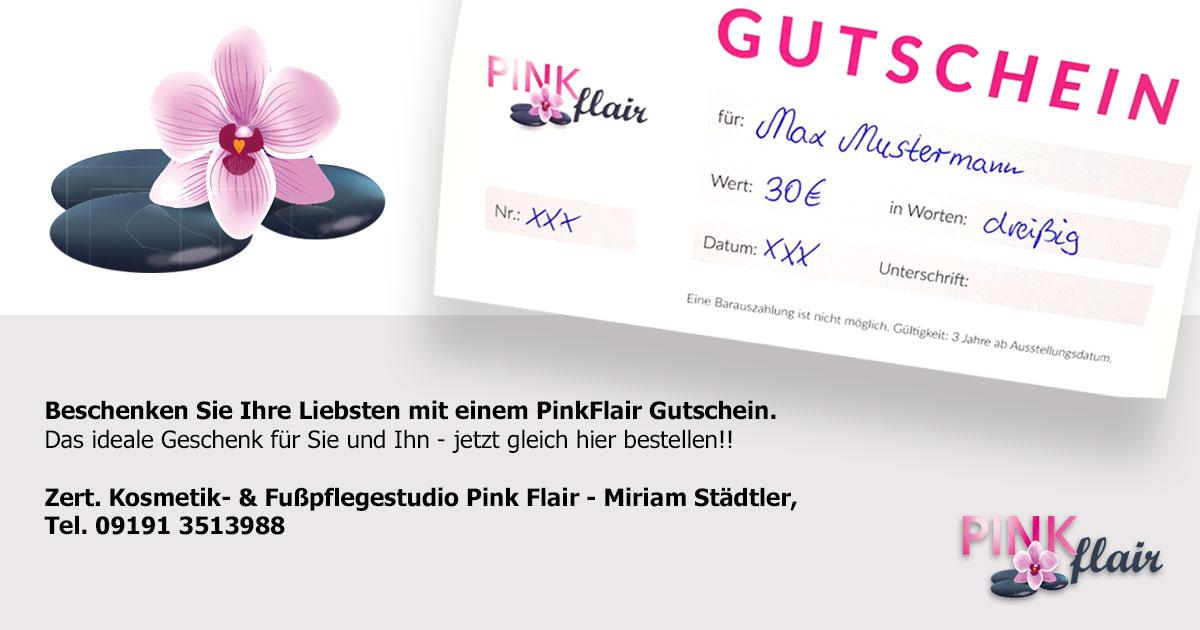 Pinkflair Gutschein