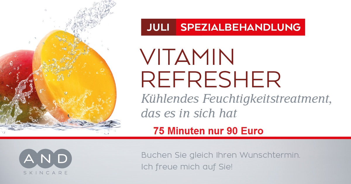 Pink-Flair, Forchheim Juli Vitamin Refresher