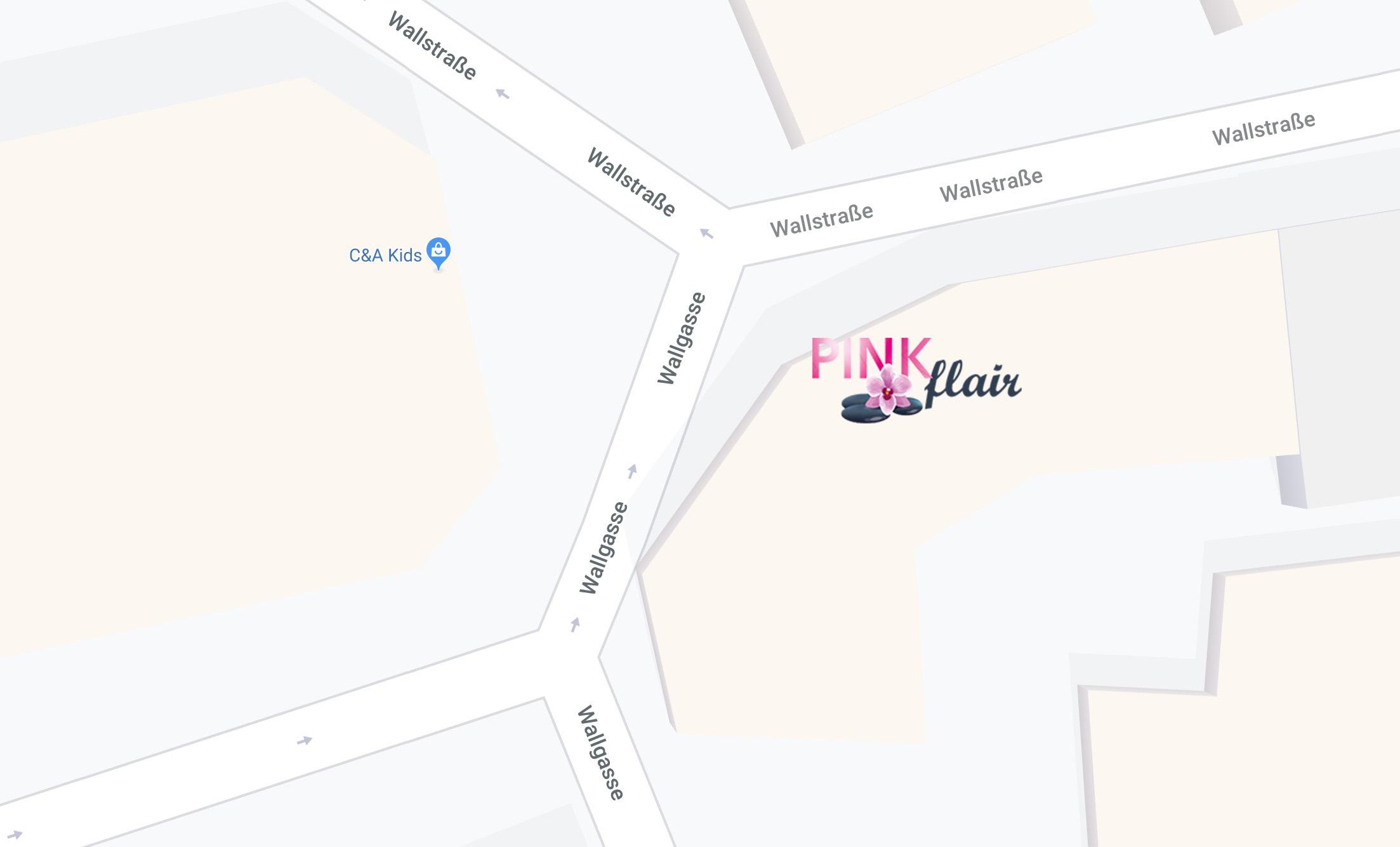 Anfahrt zu Pink-flair in Forchheim
